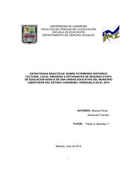 - Universidad de Carabobo