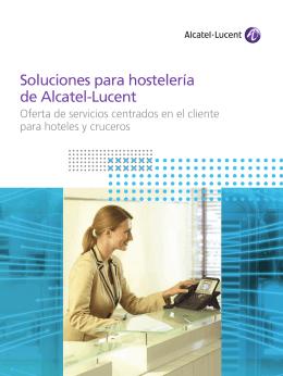 Soluciones para hostelería de Alcatel-Lucent