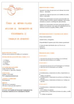 diptico 2014 - Sane Pilates