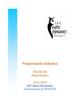 programación bach 2013-14