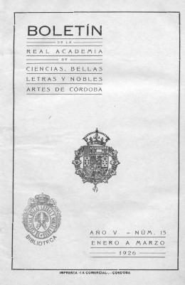 sus - Real Academia de Córdoba