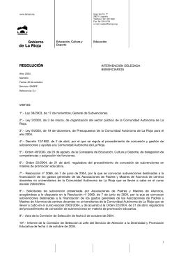 Enlace a Seguir - Gobierno de La Rioja