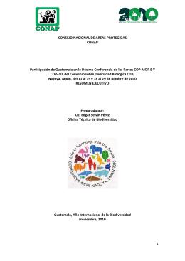 Informe integrado COP-MOP 5 y COP-10