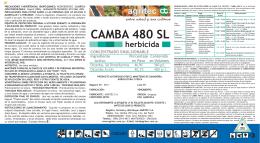 CAMBA 480 SL herbicida