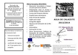 folleto 2013.2014.