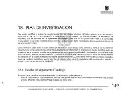 18. PLAN DE INVESTIGACION