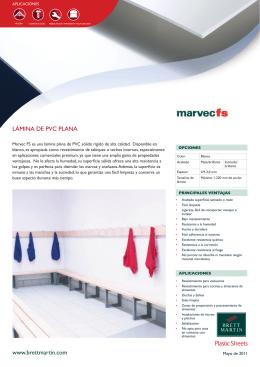 www.brettmartin.com LÁMINA DE PVC PLANA Plastic Sheets