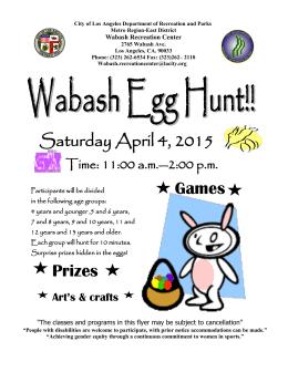 Saturday April 4, 2015 Prizes Games