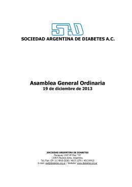 Ver - Sociedad Argentina de Diabetes