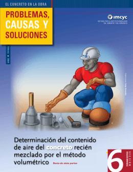 CAUSAS Y - construcción y tecnología en concreto