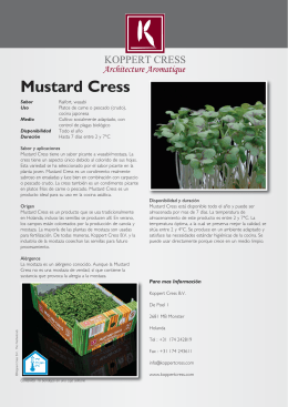 Descargar - Koppert Cress