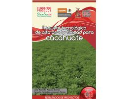 MC CACAHUATE 2010.indd - Fundación Produce Sinaloa