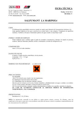 SALFUMANT LA MARIPOSA