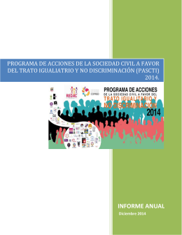 Informe PASCTI 2014