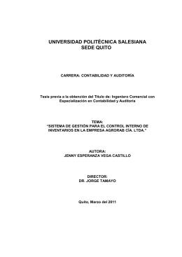 AgroRAB Cía. Ltda. - Universidad Politécnica Salesiana