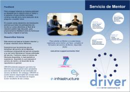 el folleto del Servicio de Mentor