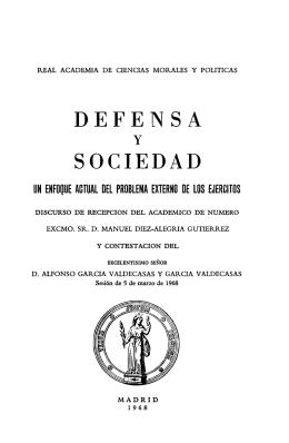 defensa sociedad - Real Academia de Ciencias Morales y Políticas