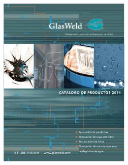 Catálogo de Productos GlasWeld