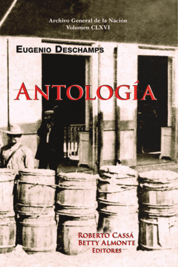vol 166. AntologÃa. Eugenio Deschamps