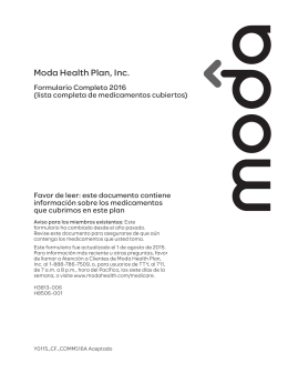 Moda Health Plan, Inc.