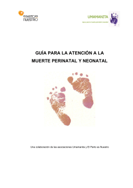 Guia Atencion Muerte Perinatal y Neonatal
