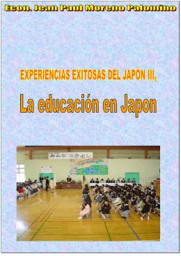 LIBRO EDUCACION EN JAPON PDF