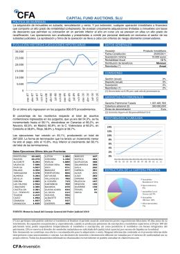 CAPITAL FUND AUCTIONS folleto explicativo