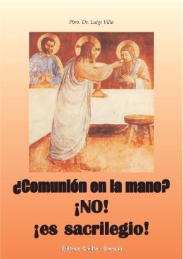 Comunión en la Mano?