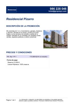 Residencial Pizarro