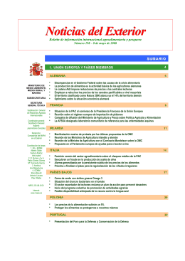 198 - Ministerio de Agricultura, Alimentación y Medio Ambiente