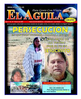 Persecucion Revista Cristiana febrero 2008