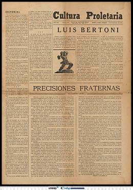 Cultura Proletaria - Biblioteca Digital da UNESP