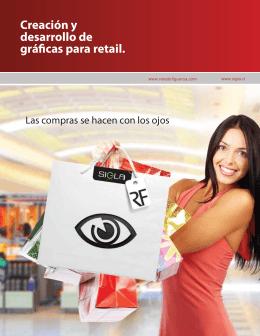 Creación y desarrollo de gráficas para retail.