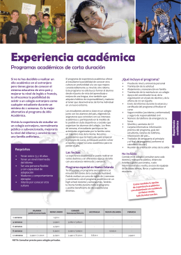 folleto PDF - Quixote International School