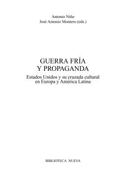 GUERRA FRÍA Y PROPAGANDA