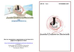 JCM Noviembre `07 (folleto)