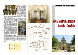 folleto iglesia santa maría del puerto