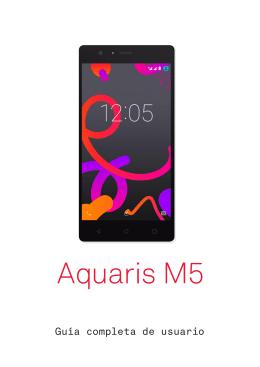manual de BQ Aquaris M5