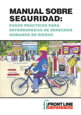 MANUAL SOBRE SEGURIDAD: