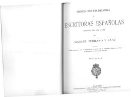 ESCRITORAS ESP ANOLAS