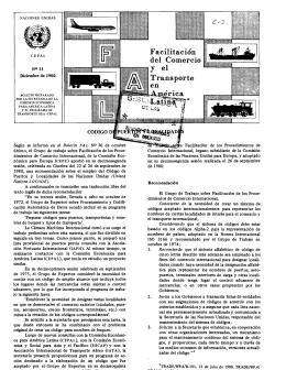 Según se informó en el Boletín FAL N° 30 de octubre último, el