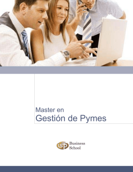 master-gestion pymes
