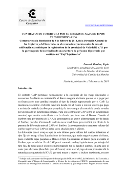 CAPS Hipotecarios - Blog UCLM - Universidad de Castilla