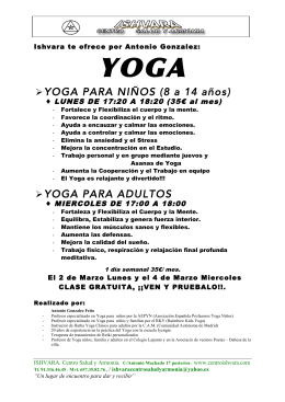YOGA - WordPress.com