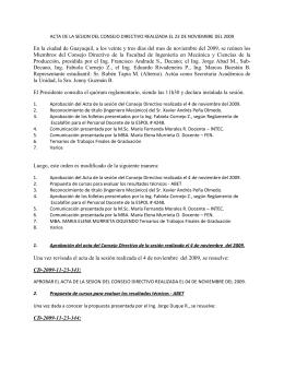 Resolución(es) de la #343 a la #389