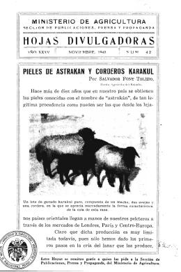 42/1943 - Ministerio de Agricultura, Alimentación y Medio Ambiente