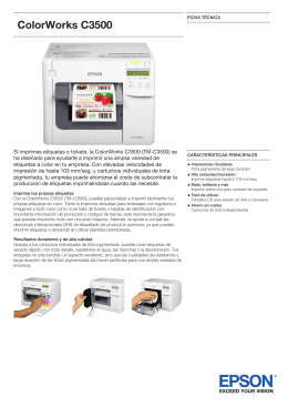 catálogo epson tm-c3500