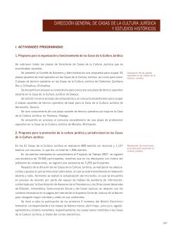 dirección general de casas de la cultura jurídica y estudios históricos