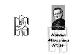 Novena Menesiana Nº. 24