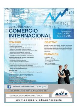 ESCUELA DE COMERCIO EXTERIOR DE ADEX